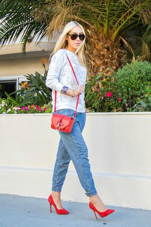 Givenchy bag - free people pants