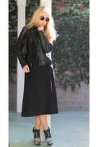 alaia boots - Zara dress