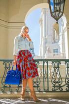 H&M shirt - Ralph Lauren bag