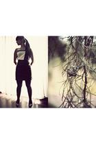 Secondhand skirt - Tennis top - Anne Klein shoes