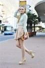 Mango-sunglasses-nude-steve-madden-heels-light-pink-zara-skirt