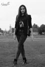 Kurt-geiger-boots-j-brand-jeans-claudie-pierlot-jacket-givenchy-t-shirt