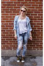 H&M jeans - Forever 21 jacket