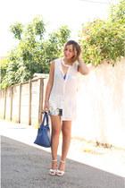 white OASAP blouse