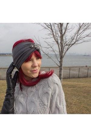 silver turban accessories
