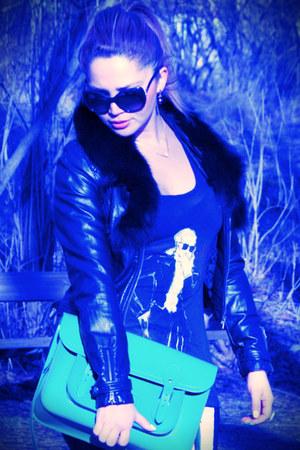 Charlotte Olympia heels - Phillip Lim jacket - Karl Lagerfeld shirt