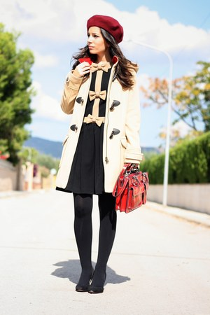 black Dolores Promesas dress - dark khaki Tommy Hilfiger coat