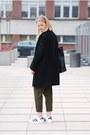 Second-hand-coat-zara-pants-adidas-sneakers