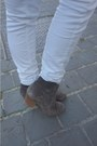 Gray-isabel-marant-boots-blue-pimkie-sweater-gray-chloe-bag