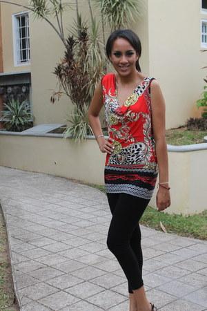 pcfashion leggings - pcfashion blouse