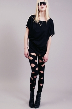 stolen girlfriends club leggings - Neurotica leggings - Shakuhachi leggings - WP