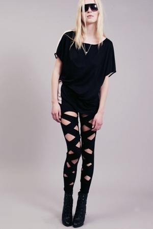 stolen girlfriends club leggings - Neurotica leggings - Shakuhachi leggings - WP