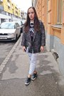 Charcoal-gray-oversized-h-m-coat-periwinkle-forever-21-jeans