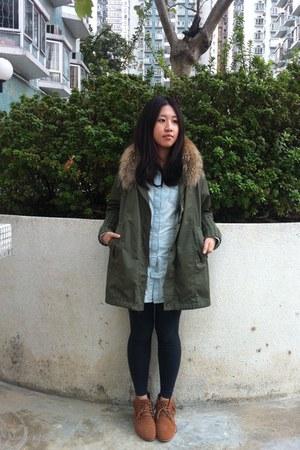 Jeanesis jacket - Zara shirt