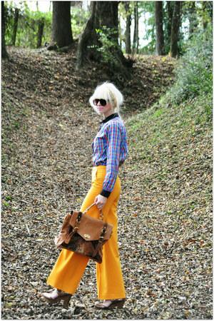 mustard PepaLoves pants - 100 cotton PepaLoves blouse