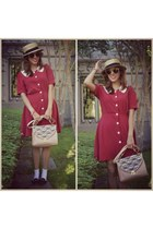 ruby red PepaLoves dress