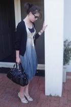 Laura Melbourne dress - Zola shoes - DKNY purse