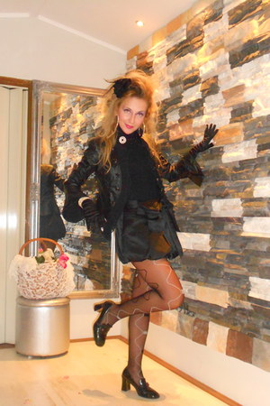 black hees DEBORA RICCI shoes - black Happening jacket