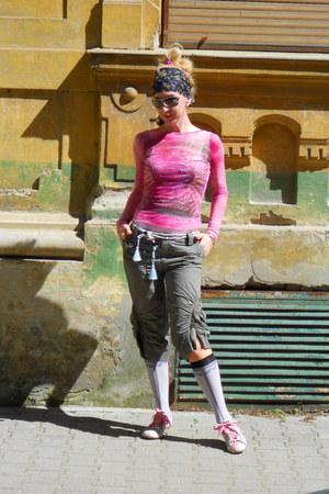 hot pink tulle Terranova blouse - bubble gum KOWALSKI HAND MADE SHOES shoes