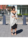 Black-babaton-dress-silver-dior-sunglasses-nude-michael-kors-heels
