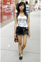 shorts - H&M t-shirt