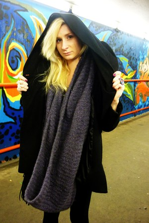 Zara coat - Promod scarf