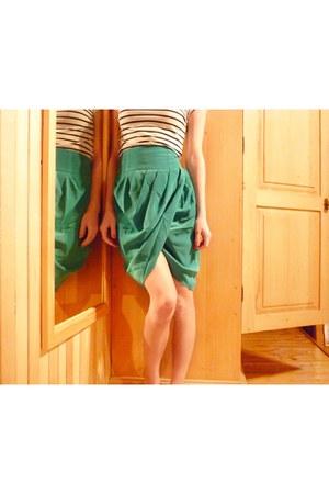 asos skirt - H&M top