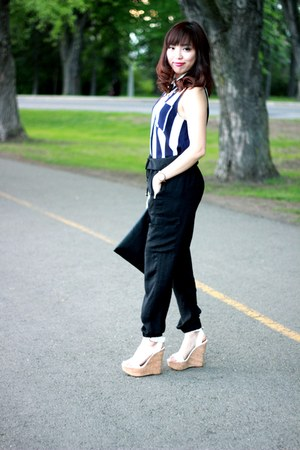 Forever 21 shirt - Zara pants