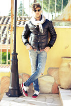 Zara shoes - antony morato jeans - Alcott jacket - rayban sunglasses