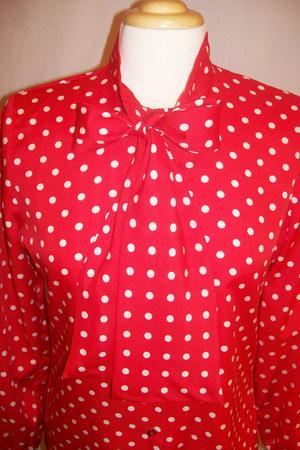 secretary Vintage Judy Bond blouse
