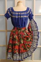 swing vintage skirt