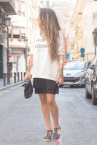 Pimkie bag - Pimkie jumper - Pimkie vest - Pimkie sandals - Pimkie necklace