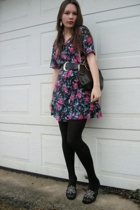 Goodwill dress - Salvation Army belt - Dollar Tree tights - Rairey Godmothers pu