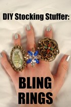 DIY Stocking Stuffer: Bling Rings