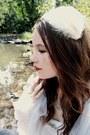 White-slip-vintage-dress-white-feather-vintage-hat-white-tulle-vintage-scarf