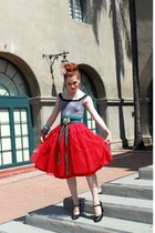 hot pink tulle Miss Ruths Time Bomb skirt - heather gray Miss Ruths Time Bomb to