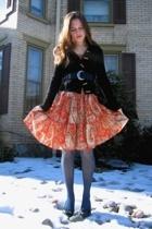 Target dress - Ross jacket - thrifted belt - Dollar Tree tights - Jessica Simpso