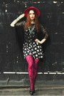 Vintage-hat-layered-targetandbetsey-johnson-tights-charlotte-russe-heels