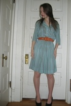 Bedford Antiques dress - Styles Boutique belt - Fashion Bug shoes