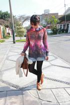 Camote Soup shirt - Ylla shoes - Forever21 jacket - Crepier bag - Esprit shorts