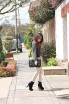 Platanitos boots - Camote Soup sweater - Bohem pants