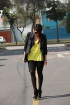 Niobe blazer - Platanitos bag - wanama shorts - Platanitos sandals