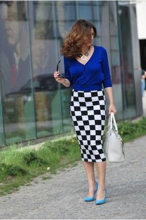 asos skirt - H&M cardigan