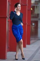 blue Frankie Morelli skirt