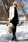 Black-alexander-wang-shoes-beige-dolce-gabbana-blazer-beige-chloe-accessorie