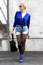 Blue-zara-shoes-gray-alexander-wang-accessories-blue-vintage-blouse