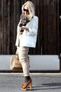 Brown-miu-miu-shoes-beige-chloe-accessories-beige-jc-pants-white-2ndhand-b