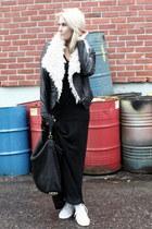 black stylestalker jacket - black stylestalker dress - black Alexander Wang bag