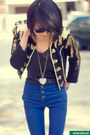 Missguided-boots-military-h-m-jacket-hearts-asos-necklace