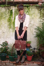 my stool scarf - my stool accessories - blanco accesories boots